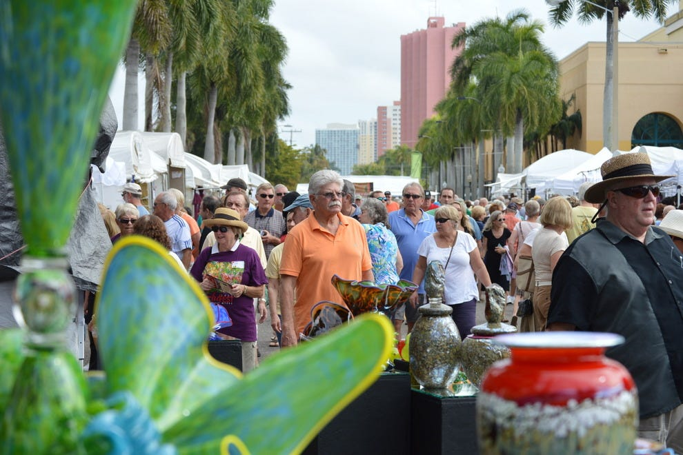 Find 200 of some of the most accomplished artists in the nation at ArtFest Fort Myers