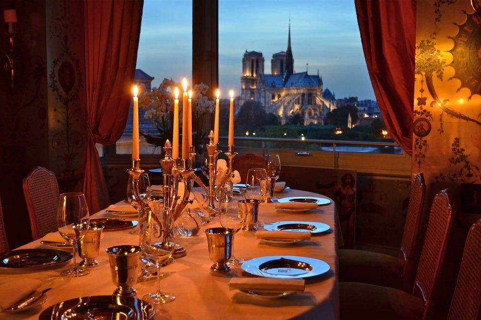 Paris romantic dining restaurants 10best restaurant reviews for Restaurant cuisine francaise paris