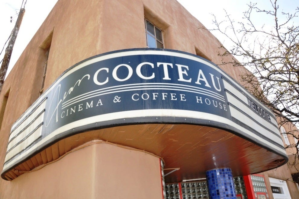 Art Deco meets adobe at the Jean Cocteau Cinema