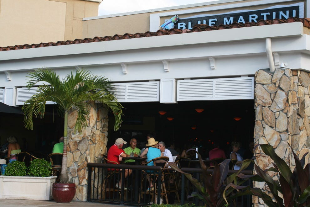 Blue Martini is a nightlife mainstay at Mercato