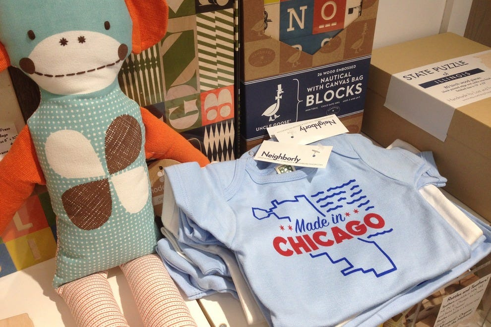 Neighborly offers a well-curated selection of baby gifts