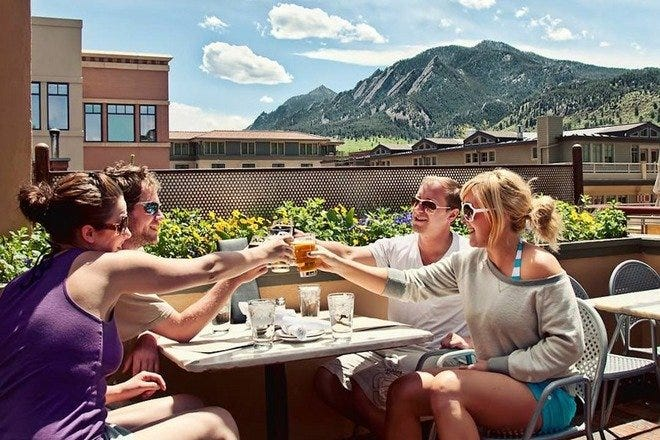 Outdoor Dining in Boulder