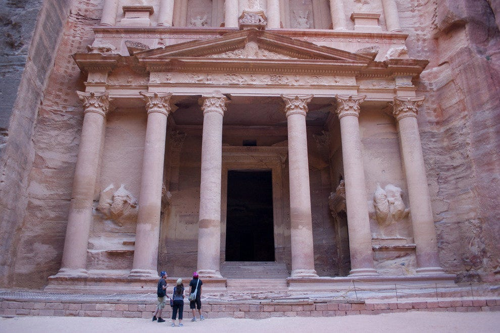 The Treasury, Al-Khazneh,, Petra