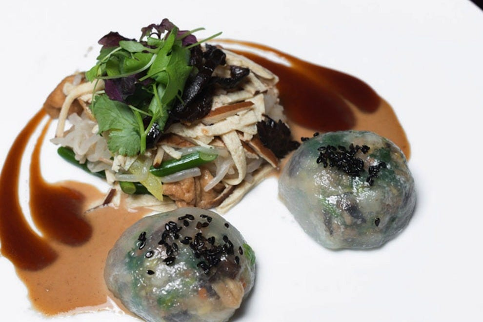 Steamed dumplings that are as beautiful as they are delicious, by Chef Susur Lee