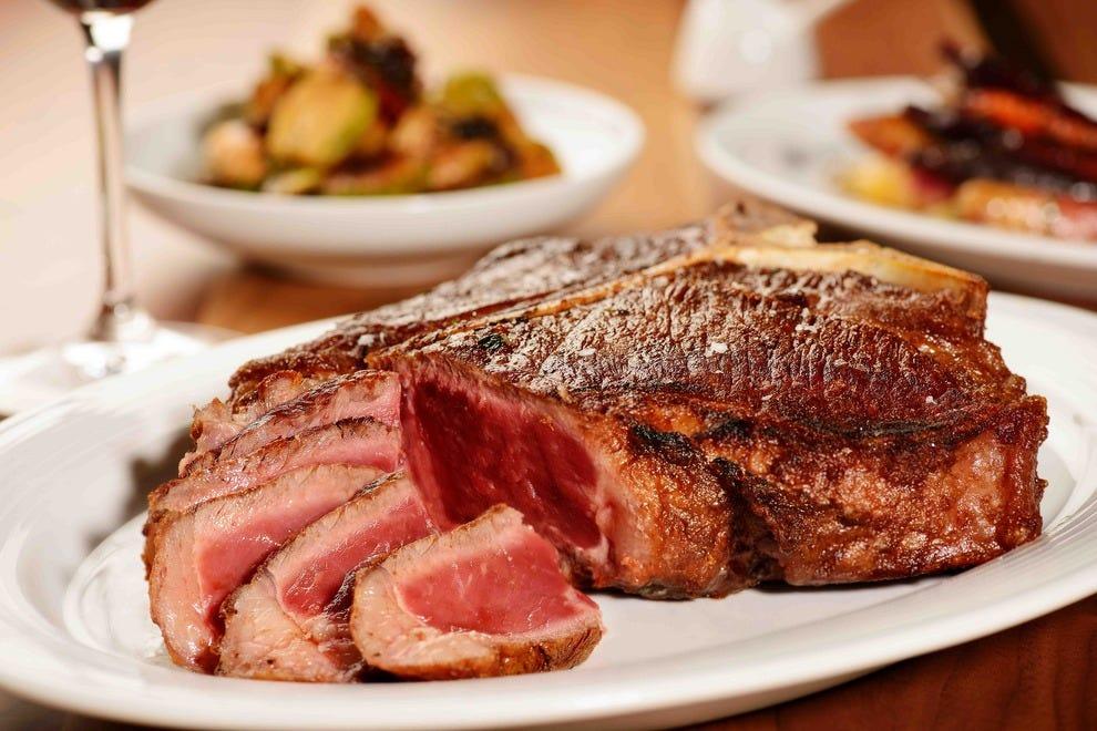 Steak House In Long Beach Part - 16: The Spectacular Chianina Beef Porterhouse Steak U2014 Photo Courtesy Of  Chianina Steakhouse