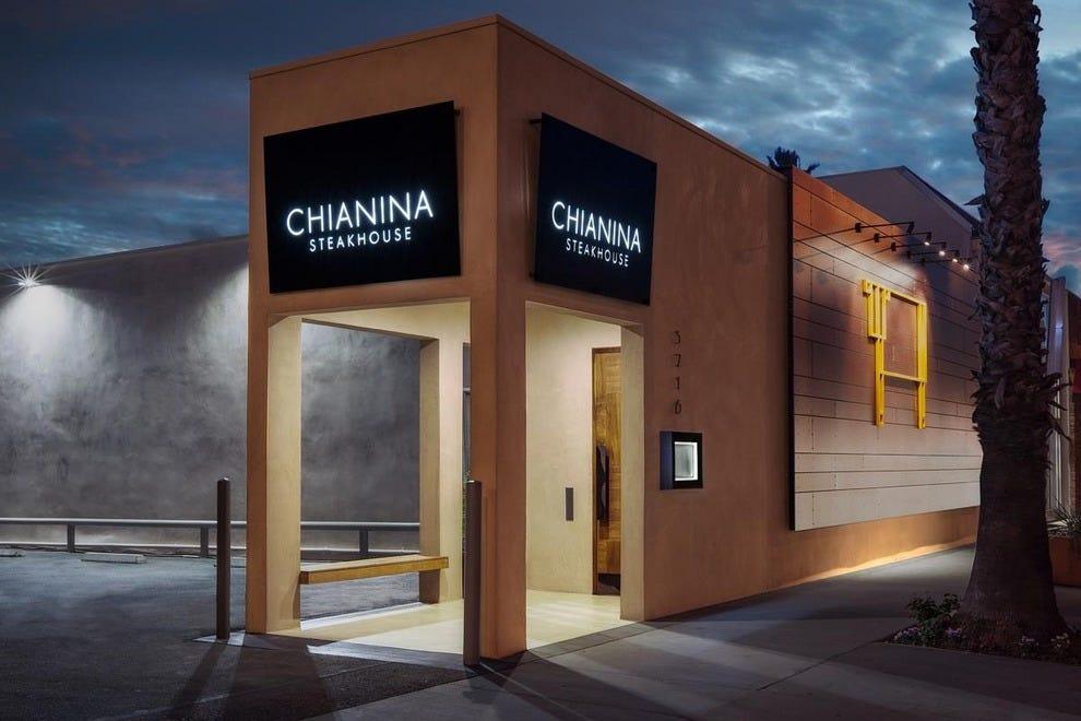 长滩的Chianina牛排馆