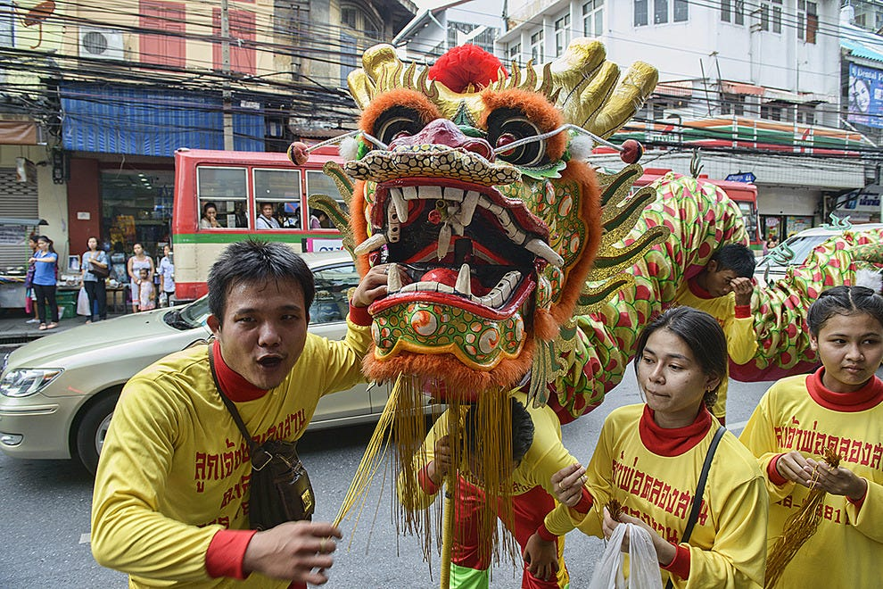 曼谷中国龙游
