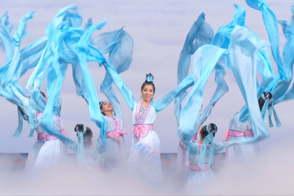 沈云2015舞蹈表演