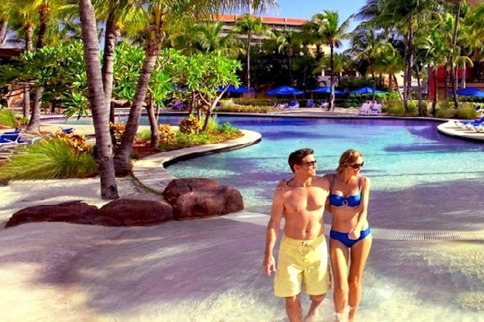 雷迪森阿鲁巴岛度假胜地,赌场和水疗中心