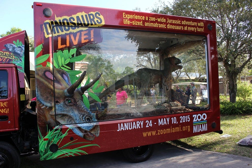 Dinosaurs LIVE! Brings the Jurassic to Zoo Miami: Attractions ...