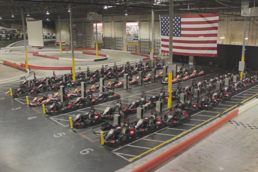 European-style indoor go-kart racing lets you drive like a pro