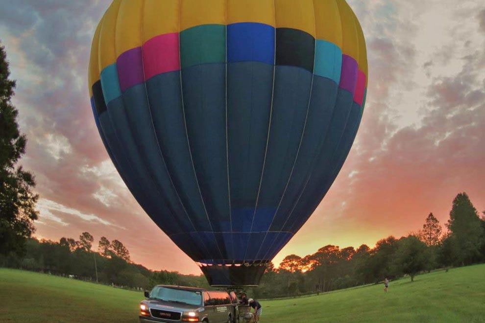 空中气球旅行社