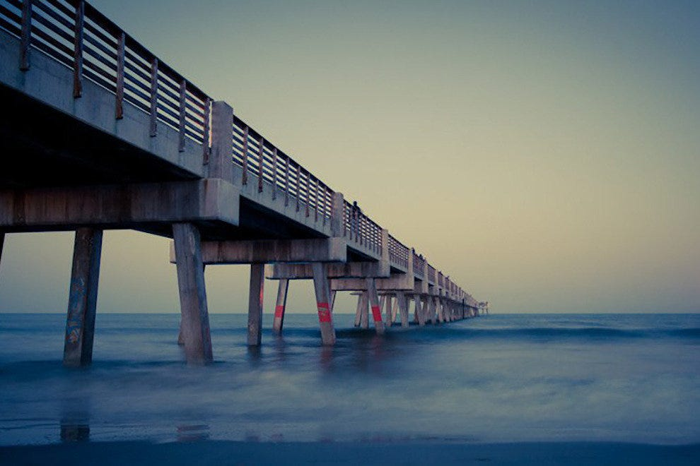 Jacksonville beach fishing pier jacksonville attractions for Fishing piers in jacksonville fl
