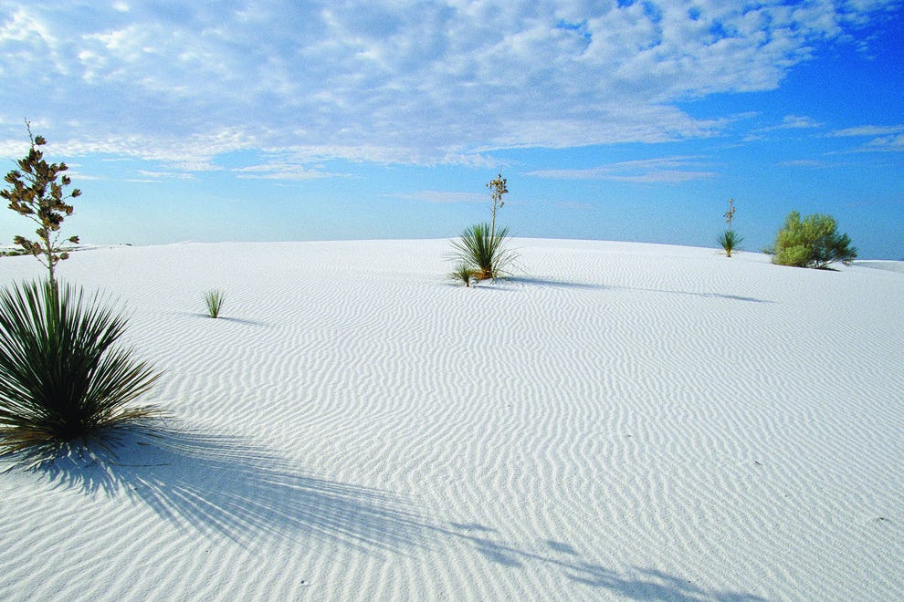 White Sands National Monument is a surreal natural wonder