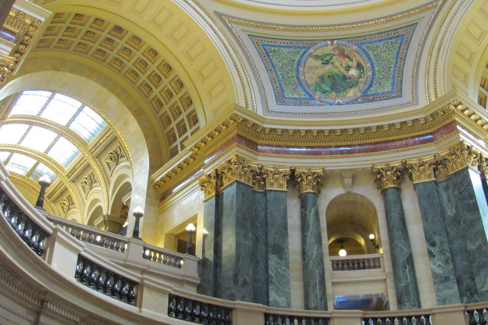 Madison, Wis., has a gorgeous capital building
