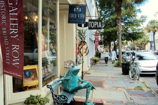 Charleston Gallery Association Art Walks