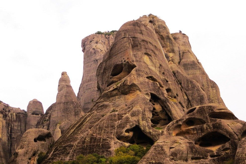 Meteora Caves: A Haven for Hermits