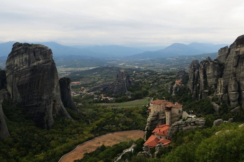 Roussanou - Meteora, Greece