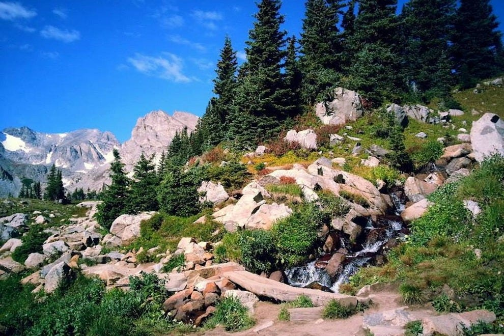 Secluded Indian Peaks Wilderness offers hiking and camping for lovers who want to get away from it all.