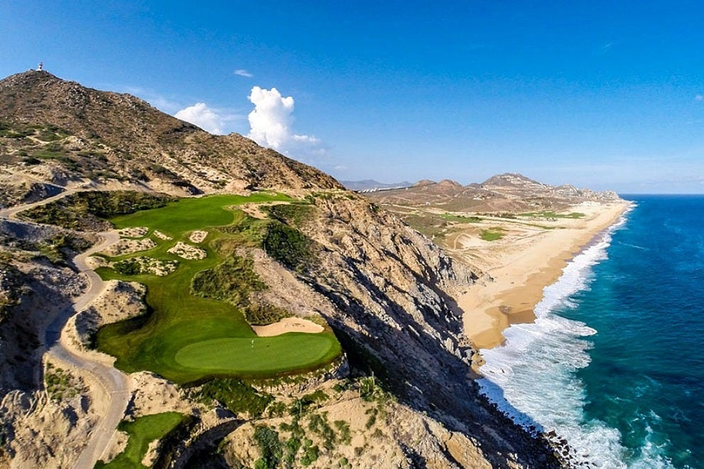 "The Jack Nicklaus-designed Quivira Golf Club in Cabo San Lucas has already been lauded by ""GOLF Magazine"" as the world's best new course"