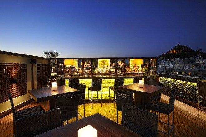 GB Roof Garden - Best Restaurants In Athens