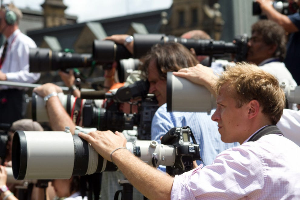 Paparazzi: the ultimate celebrity spotters