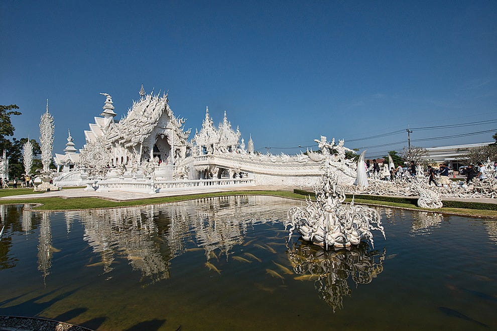 Heaven on earth, Wat Rong Khun