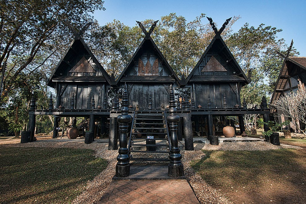 Thawan Duchanee's amazing Black House