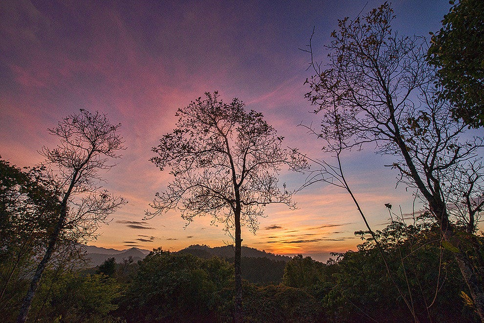 Northern Thailand's natural beauty