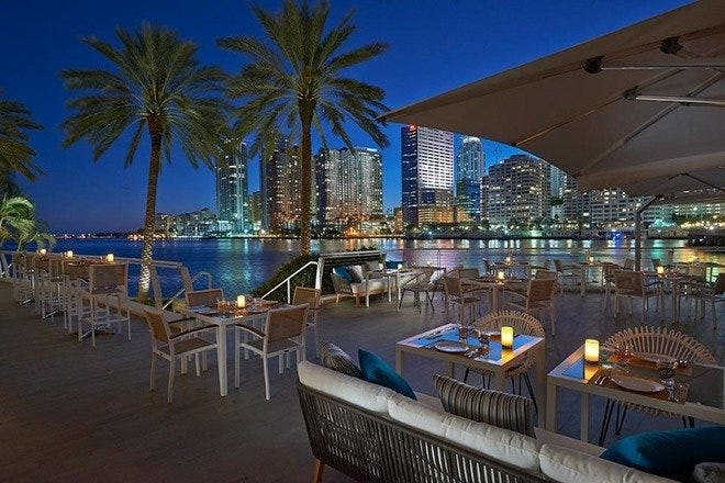 Outdoor Dining in Miami