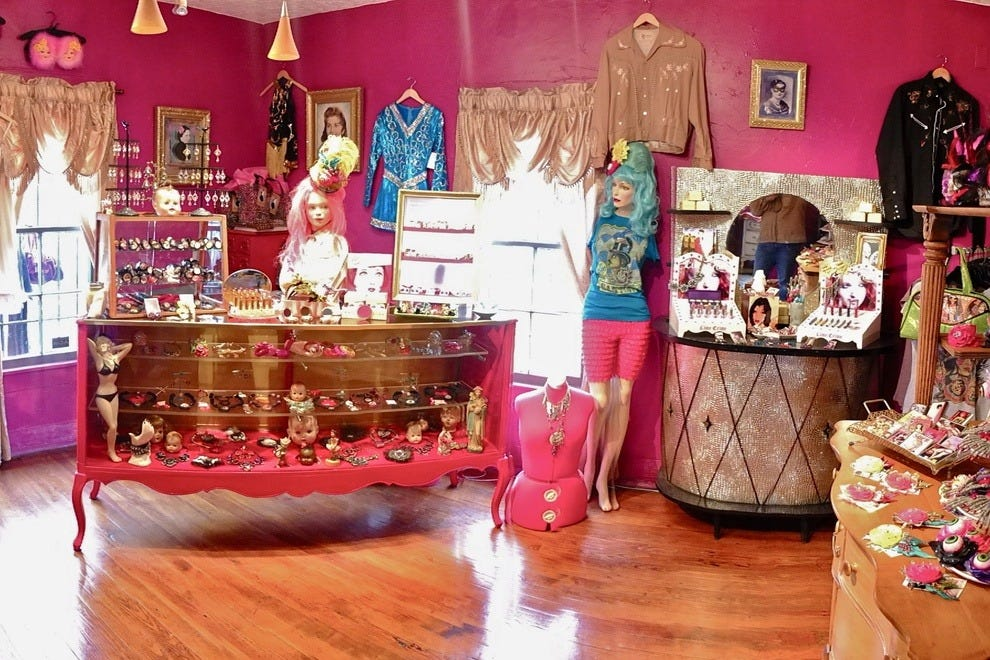 Chocolate clothing store. Online clothing stores