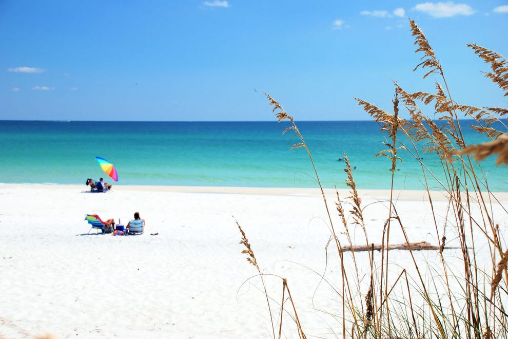 Best Isolated Beaches In Florida