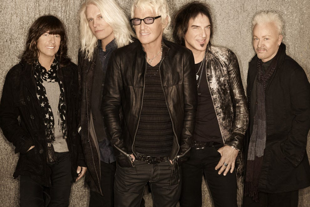 REO Speedwagon has sold more than 40 million records