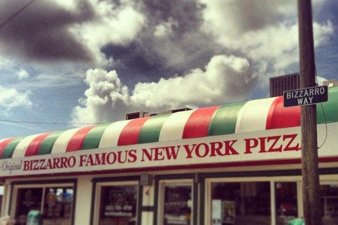 The Original Bizzarro Famous NY Pizza