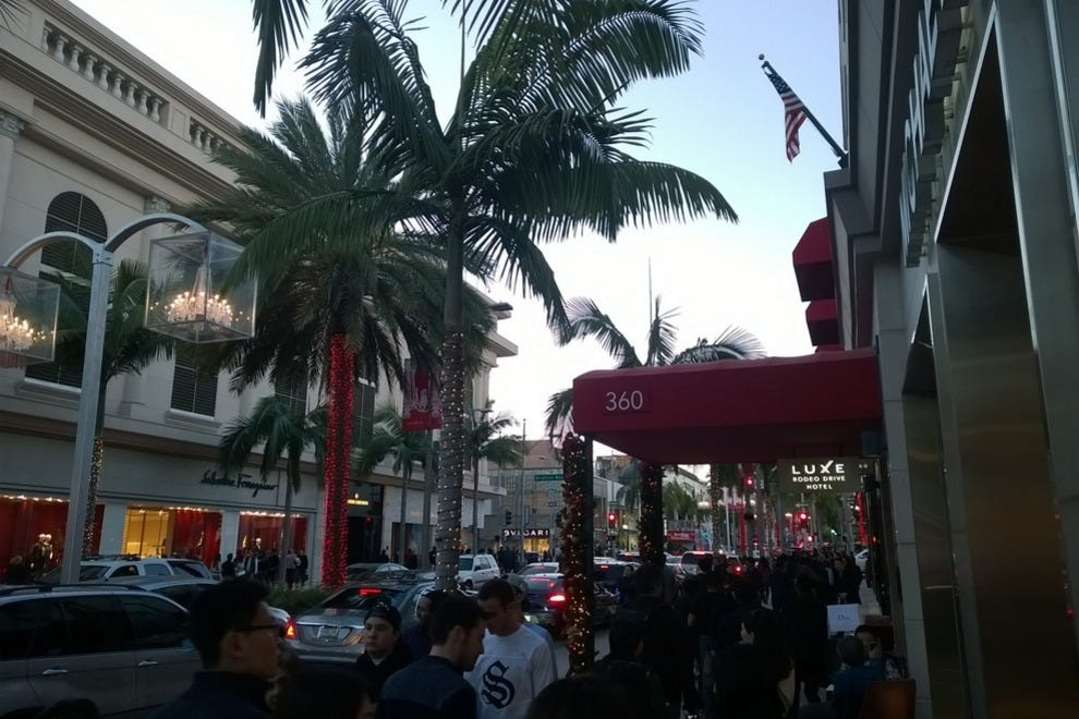Luxe Rodeo Drive Hotel is the only hotel on Rodeo Drive