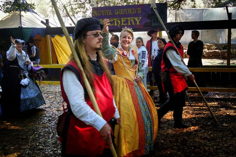 Meet the queen and her court at the Bay Area Renaissance Festival
