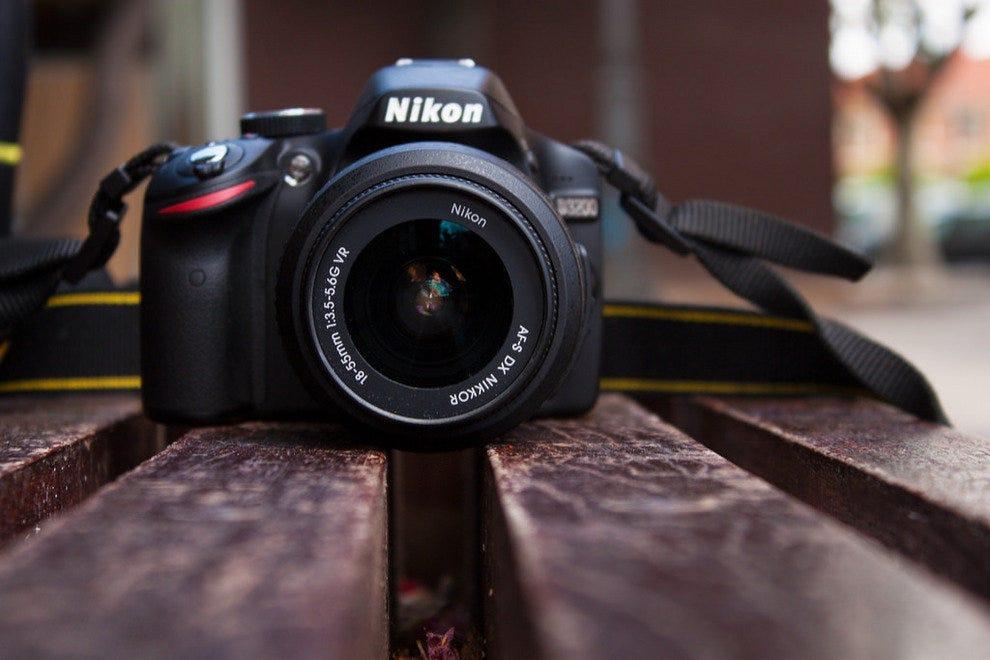 纳尔逊的相机