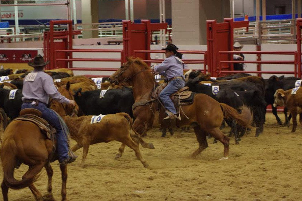 Trace the rodeo's roots at the Ranch Rodeo.