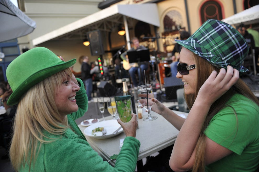 This year's Mighty St. Patrick's Day Festival runs March 13 to March 17, 2015