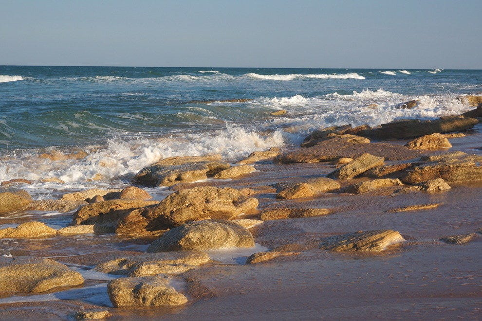 Washington Oaks and Coquina Beach State Parks