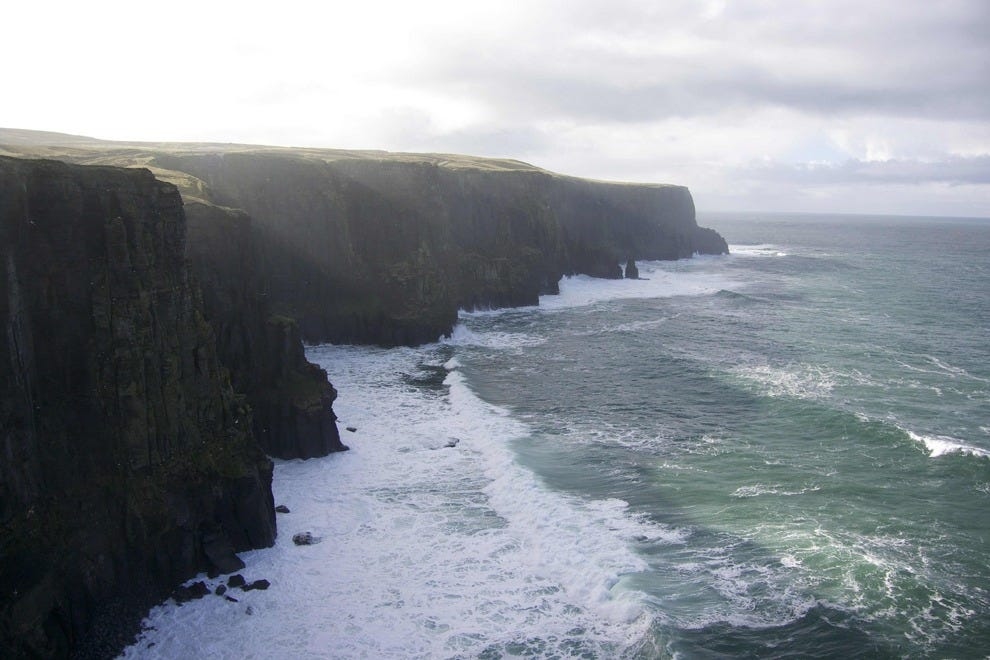 The Cliffs of Moher, Ireland's most-visited attraction