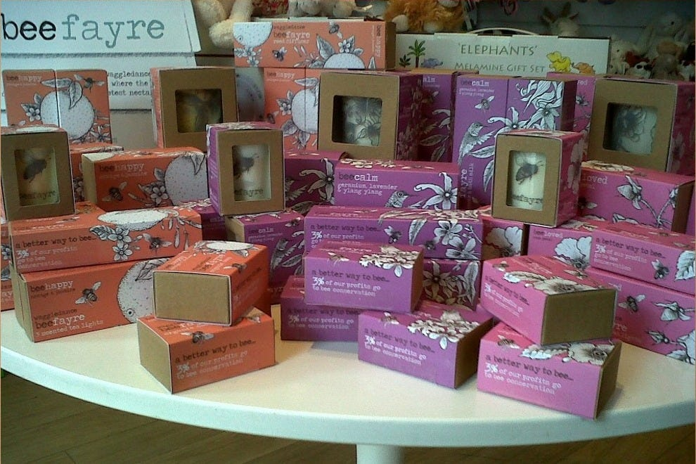 Beefayre soaps at Bliss