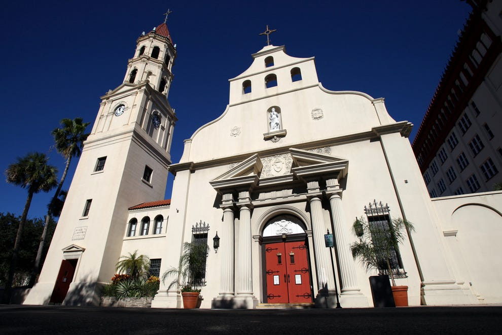 St Augustine Celebrates Five Centuries Of History