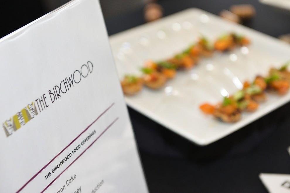 Returning for another year, The Birchwood's Birch & Vine will serve tasty bites