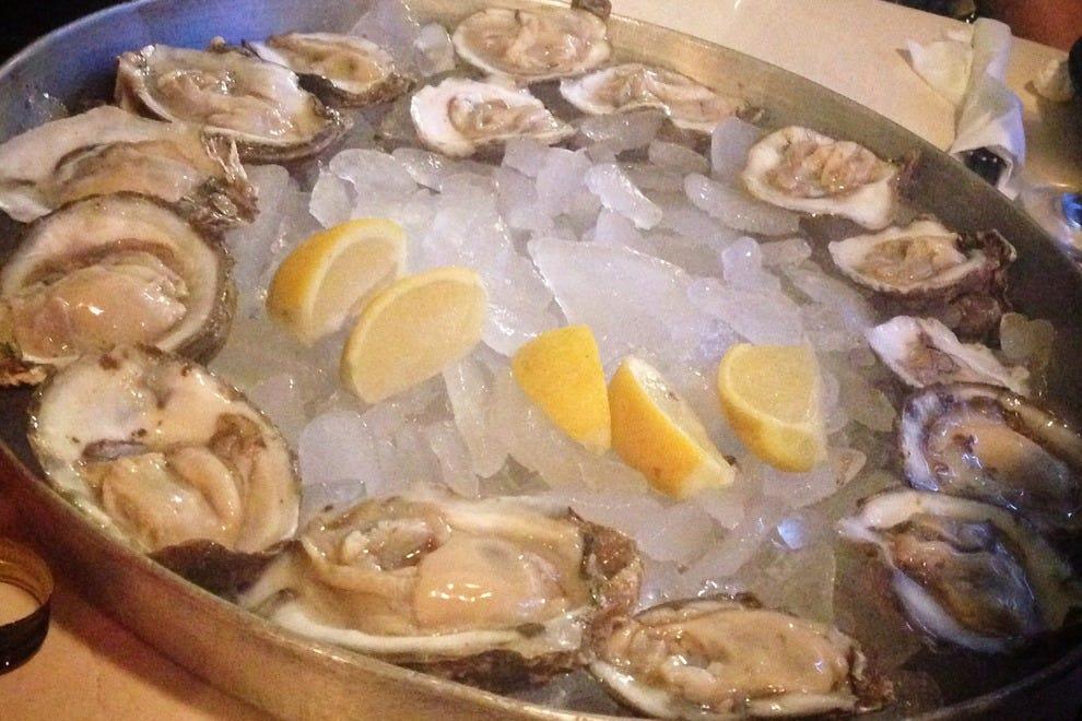 大西洋海鲜新鲜牡蛎