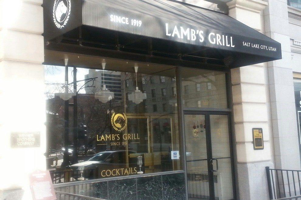 Lamb s Grill Cafe: Salt Lake City Restaurants Review - 10Best Experts and Tourist Reviews