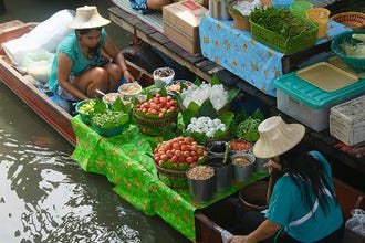 Floating Markets of Bangkok and Its Nearby Thai Surrounds