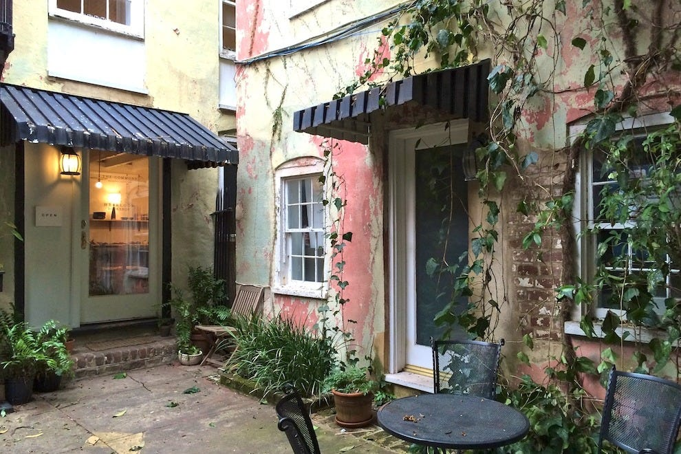The Commons is perfectly at home in this dreamy Broad Street courtyard    Photo courtesy of Clare Sweeney. The Commons  Shop for Handmade Home Goods in Charleston  Shopping