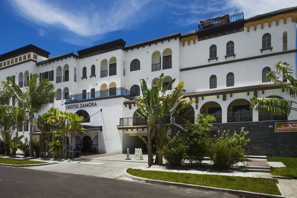 The Hotel Zamora Is First New In St Pete Beach More Than Two Decades Photo Courtesy Of Luisana Suegart