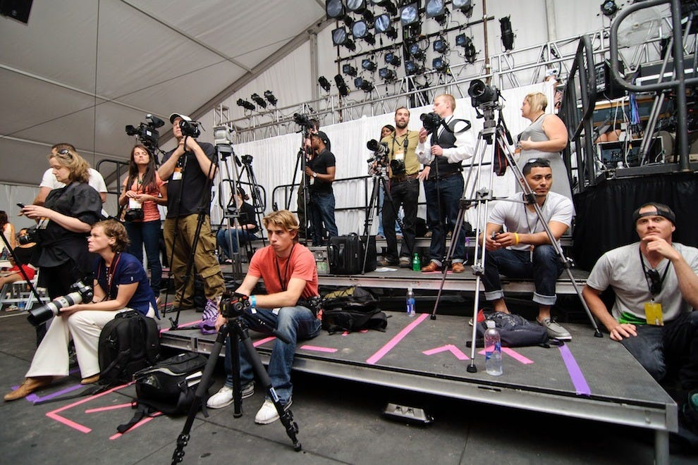 Behind the lens: Charleston Fashion Week photographers await the next runway show